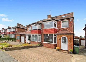 Thumbnail 4 bedroom semi-detached house for sale in Anmersh Grove, Stanmore