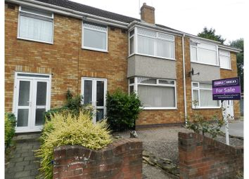 Thumbnail 3 bed terraced house for sale in Sedgemoor Road, Coventry