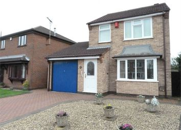 Thumbnail 3 bed detached house for sale in Blackthorn Close, Lutterworth