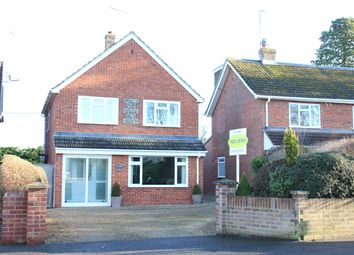 Thumbnail 3 bed detached house for sale in Priory Road, Hungerford