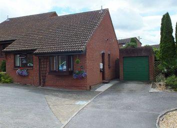 Thumbnail 2 bed semi-detached bungalow for sale in Cheyney Walk, Westbury, Wiltshire