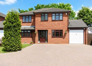 Thumbnail 4 bed detached house for sale in Highfield Road, Heath Hayes, Cannock