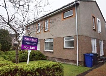 Thumbnail 1 bed flat for sale in Broomhill Crescent, Erskine