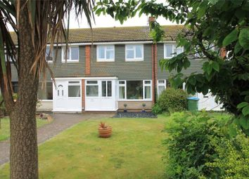 Thumbnail 3 bed terraced house for sale in Binsted Close, Rustington, West Sussex