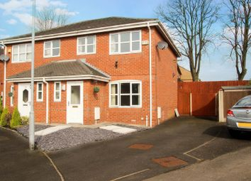 Thumbnail 3 bed semi-detached house for sale in Traynor Close, Middleton