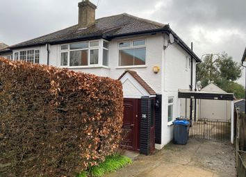Thumbnail 3 bed semi-detached house to rent in Old Farleigh Road, South Croydon