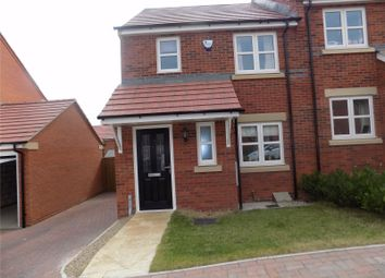 Thumbnail 3 bed semi-detached house for sale in Newton Drive, Heanor, Derbyshire