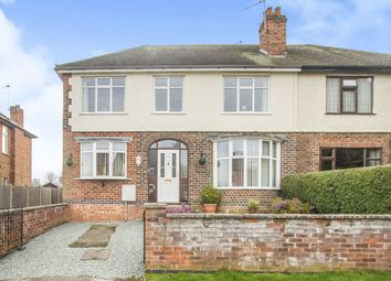Thumbnail 4 bed semi-detached house for sale in Shepshed Road, Hathern, Loughborough