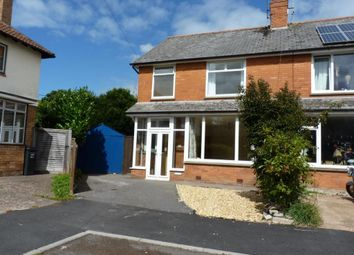Thumbnail 3 bed semi-detached house to rent in Greenway Crescent, Taunton, Somerset