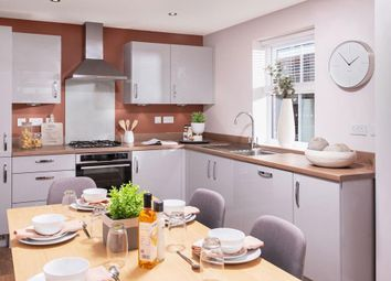 "Thumbnail 3 bed detached house for sale in ""Hadley"" at Fleckney Road, Kibworth, Leicester"