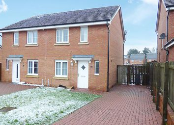 Thumbnail 3 bedroom semi-detached house for sale in Woodhill Road, Bathgate, West Lothian