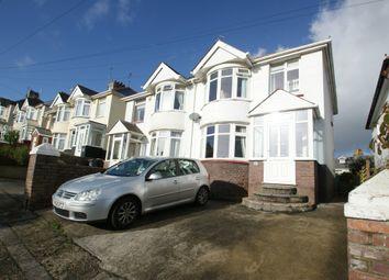 Thumbnail 3 bed semi-detached house for sale in Titchfield Gardens, Paignton, Devon