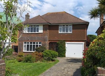 Thumbnail 3 bed detached house for sale in Arlington Avenue, Goring-By-Sea, Worthing