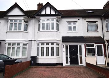 Thumbnail 4 bed terraced house for sale in Mansted Gardens, Chadwell Heath, Romford