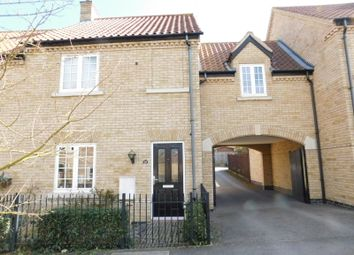 Thumbnail 3 bed terraced house for sale in Hardy Way, Fairfield, Hitchin