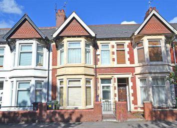 Thumbnail 3 bed terraced house for sale in New Zealand Road, Heath/Gabalfa, Cardiff