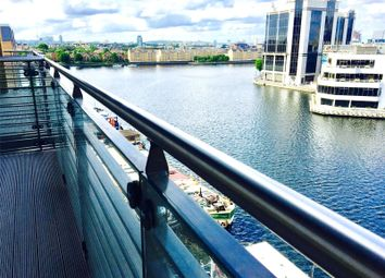 Thumbnail 2 bed flat to rent in Dockside, 14 Turnberry Quays, London
