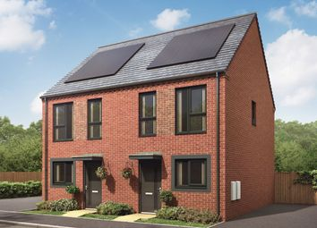"""Thumbnail 2 bed semi-detached house for sale in """"The Bailey"""" at Showell Road, Wolverhampton"""