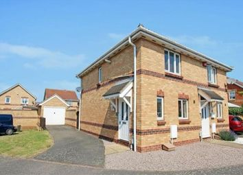 Thumbnail 2 bed semi-detached house to rent in Bluebell Close, Shortstown, Bedford