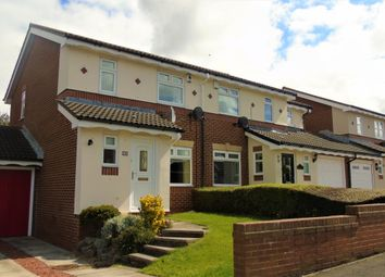 Thumbnail 3 bed semi-detached house for sale in Broadstone, Marton-In-Cleveland, Middlesbrough