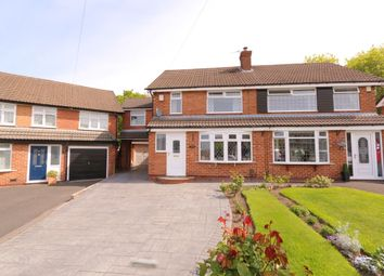 Thumbnail 3 bed semi-detached house to rent in Davenport Drive, Woodley, Stockport