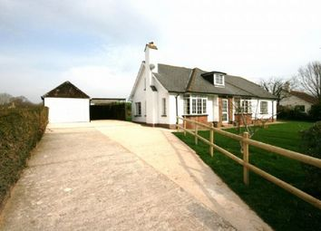 Thumbnail 3 bed detached bungalow to rent in Old Rydon Lane, Exeter