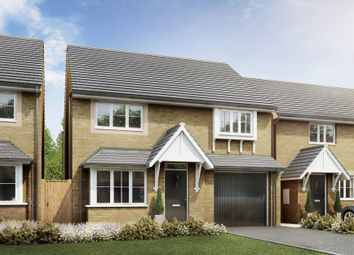 "Thumbnail 4 bed detached house for sale in ""Tetbury"" at Windbrook Meadow, Swindon"