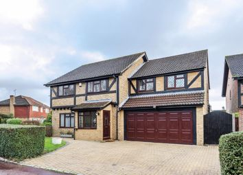 Thumbnail 5 bed detached house for sale in Cornwall Close, Wokingham