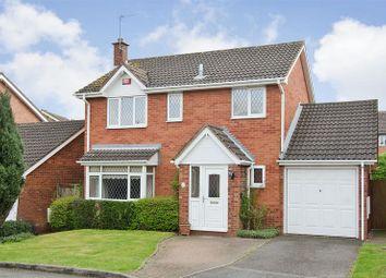 Thumbnail 4 bed detached house for sale in Carmichael Close, Boley Park, Lichfield