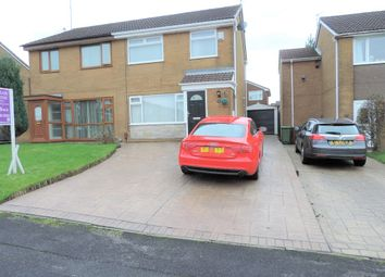 Thumbnail 3 bed semi-detached house for sale in 11 Saxon Drive, Chadderton
