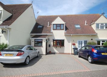 Thumbnail 4 bed terraced house for sale in Churchill Rise, Springfield, Chelmsford