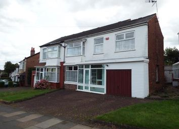 Thumbnail 4 bed semi-detached house for sale in Gibbins Road, Selly Oak, Birmingham, West Midlands