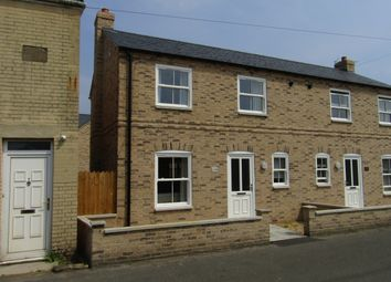 Thumbnail 2 bedroom semi-detached house to rent in Railway Lane, Chatteris