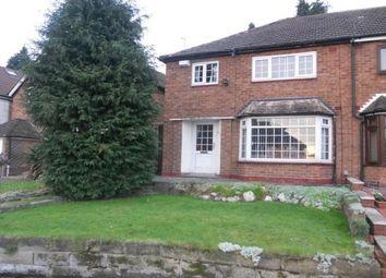 Thumbnail 3 bed property to rent in Craythorne Avenue, Handsworth, Birmingham