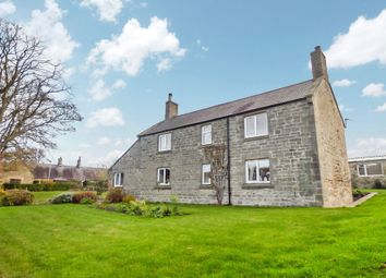 Thumbnail 4 bed detached house for sale in The Village, Acklington, Morpeth