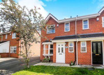 Thumbnail 2 bed semi-detached house for sale in Hollybank Close, Winnington, Northwich