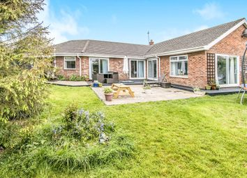 Thumbnail 4 bed detached bungalow for sale in The Close, Hemsby, Great Yarmouth