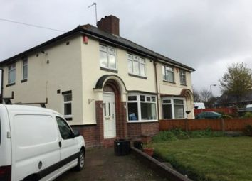 Thumbnail 3 bed property to rent in Park Lane, Wednesbury, Walsall