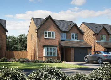 "Thumbnail 4 bed detached house for sale in ""The Hemsby"" at Manchester Road, Congleton"