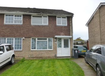 Thumbnail 3 bed semi-detached house to rent in Berry Close, Hedge End, Southampton