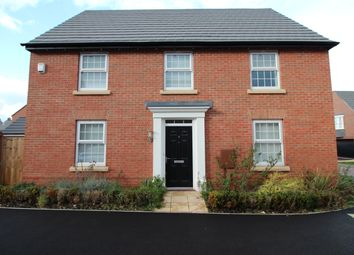 Thumbnail 4 bed detached house to rent in Rowan Road, Glenfield