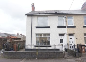 Thumbnail 3 bed end terrace house for sale in Commercial Street, Glyngaer, Hengoed, Caerphilly