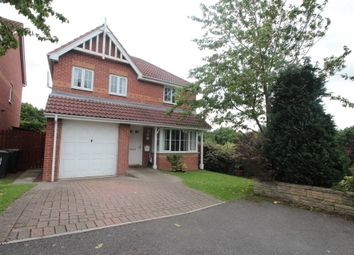 Thumbnail 4 bedroom detached house for sale in Edgewood Court, Sacriston, Durham