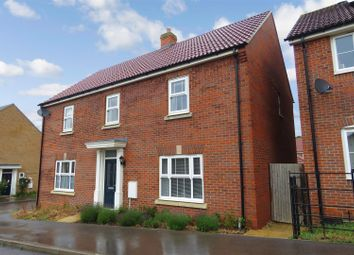 Thumbnail 3 bed semi-detached house for sale in Swannell Way, Gamlingay, Sandy