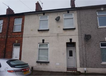 Thumbnail 3 bed terraced house for sale in Croft Street, Cardiff