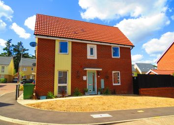 Thumbnail 3 bed semi-detached house for sale in Peacock Grove, Costessey, Norwich