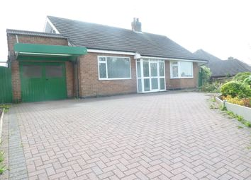 Thumbnail 4 bed detached bungalow to rent in Wood Lane, Newhall, Swadlincote