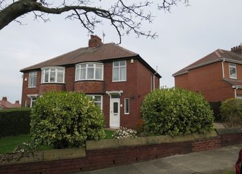Thumbnail 3 bed semi-detached house for sale in Kingsway, South Shields