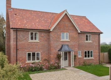 Thumbnail 4 bed detached house for sale in Bay Field, East Tuddenham, Dereham