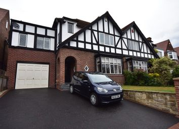 Thumbnail 4 bedroom semi-detached house to rent in Reid Park Road, Jesmond, Newcastle Upon Tyne